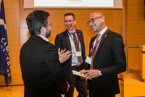 Nicolas Henkes (CLC), Vincent Bechet (Inowai) et Marc Baertz (Inowai) ((Photo: Olivier Dessy))