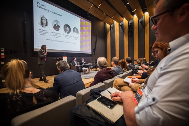 "Conférence ""Crypto-assets, nothing but opportunities"" organisée par PwC (Photo: Nader Ghavami)"