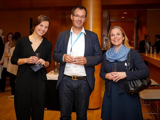 Başak Bağlayan et Jörg Gerkrath (Université du Luxembourg) (Photo: Eric Devillet)