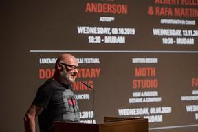 Ian Anderson (The Designers Republic) ((Photo: Jan Hanrion/Maison Moderne))