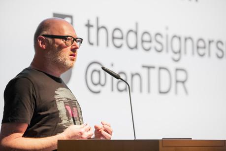 Ian Anderson (The Designers Republic) (Photo: Jan Hanrion/Maison Moderne)