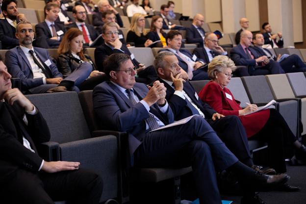 Yves Maas (ABBL), Guy Hoffmann (Raiffeisen), Viviane Reding (CSV) (Photo: Matic Zorman / Maison Moderne)