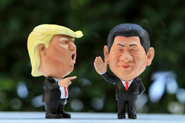 Le discours au lance-pierre de Trump face à Xi Jinping a donné les coudées franches aux Européens pour critiquer les pratiques commerciales chinoises. (Photo: Shutterstock)