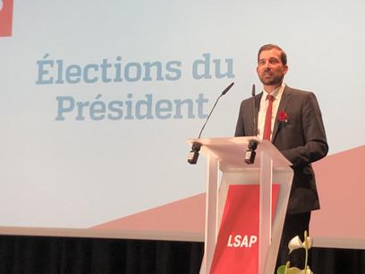 YvesCruchten est le nouveau président du parti socialiste luxembourgeois. (Photo: Maison Moderne)