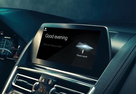 BMW Intelligent Personal Assistant (Crédit Photo: BMW)