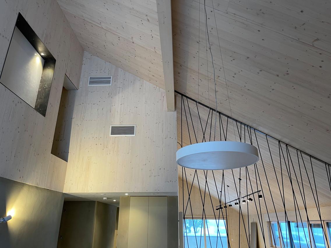 Le bois permet une architecture moderne EHS