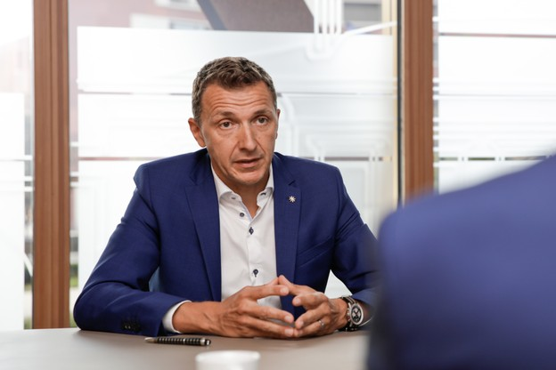 David Capocci est managing partner de KPMG depuis le 13 mars 2020. (Photo: Romain Gamba / Maison Moderne)