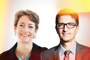 Anouk Hilger, Head of Renewable Energies & Laurent Magi, Head of Energy and Consultancy Services – Enovos Luxembourg    Maison Moderne