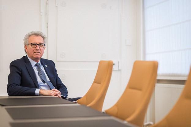 Pierre Gramegna: «Nous devons continuer à faire notre part, être vraiment à la hauteur et même parfois anticiper les changements.» (Photo: Mike Zenari/Maison Moderne)