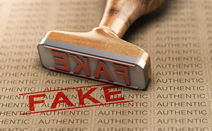 9% des Européens, soit près d'un sur dix, ont déclaré avoir été induits en erreur et avoir acheté des produits de contrefaçon. (Photo: Shutterstock)