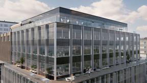 Une terrasse sera aménagée au sommet de l'immeuble. ((Illustration: Beiler François Fritsch/Baltisse))