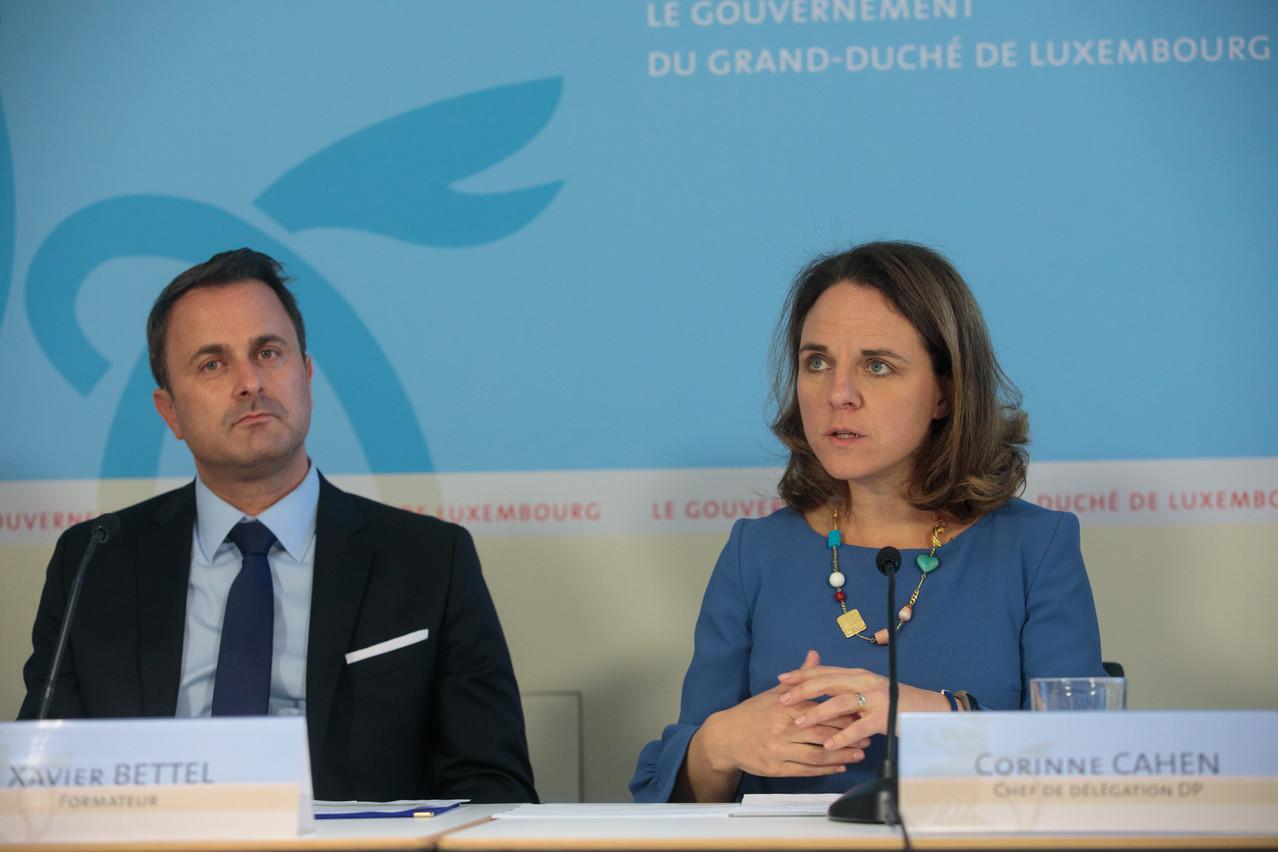 XavierBettel avait soutenu sa ministre dans une réponse parlementaire. La demande de CorinneCahen va lui permettre de saisir le comité d'éthique sans revenir sur sa position. (Photo: Matic Zorman / Archives)