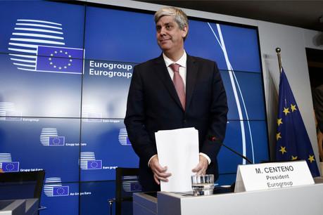 Le président de l'Eurogroupe, Mário Centeno, devra jouer les arbitre entre pays du Nord et du Sud. (Photo: Shutterstock)