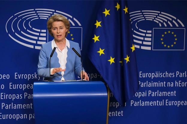 La pandémie provoquera un «choc majeur» mais temporaire sur l'économie selon Ursula von der Leyen, qu'il convient d'amortir avec un large soutien aux entreprises comme au secteur de la santé. (Photo : Shutterstock)