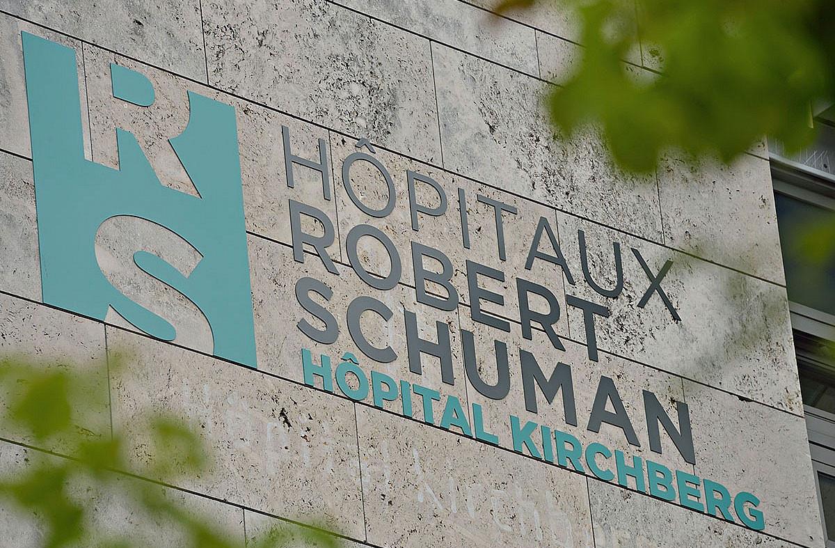 Un cas a été diagnostiqué sur le site Kirchberg des Hôpitaux RobertSchuman. (Photo: HRS)