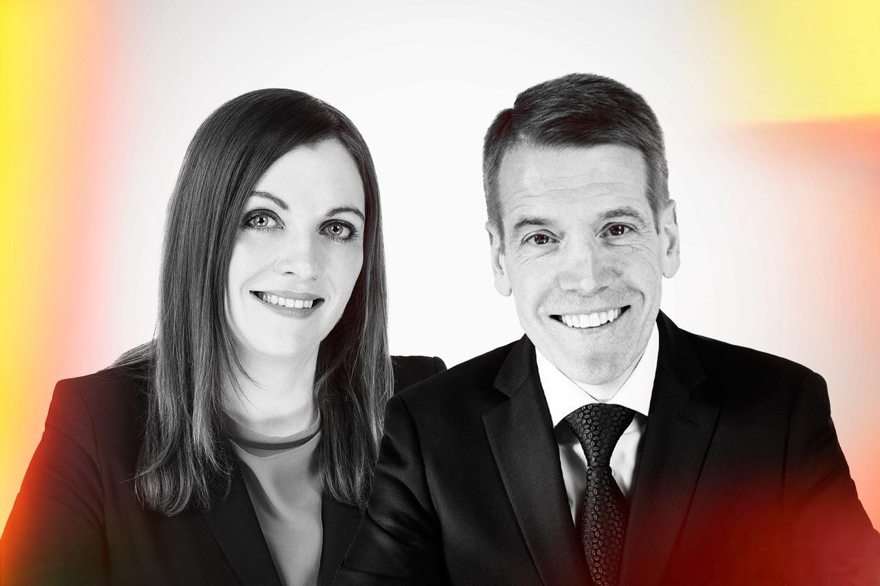 Nuala Doyle &  Pierre-Alexandre Degehet, Partner s at Bonn Steichen & Partners (Photo: Maison Moderne)