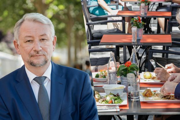 Si les chiffres du Covid ne diminuent pas au Luxembourg cette semaine, les bars et restaurants pourraient être contraints de fermer une nouvelle fois. (Photos: Romain Gamba/Maison Moderne. Photomontage: Paperjam)