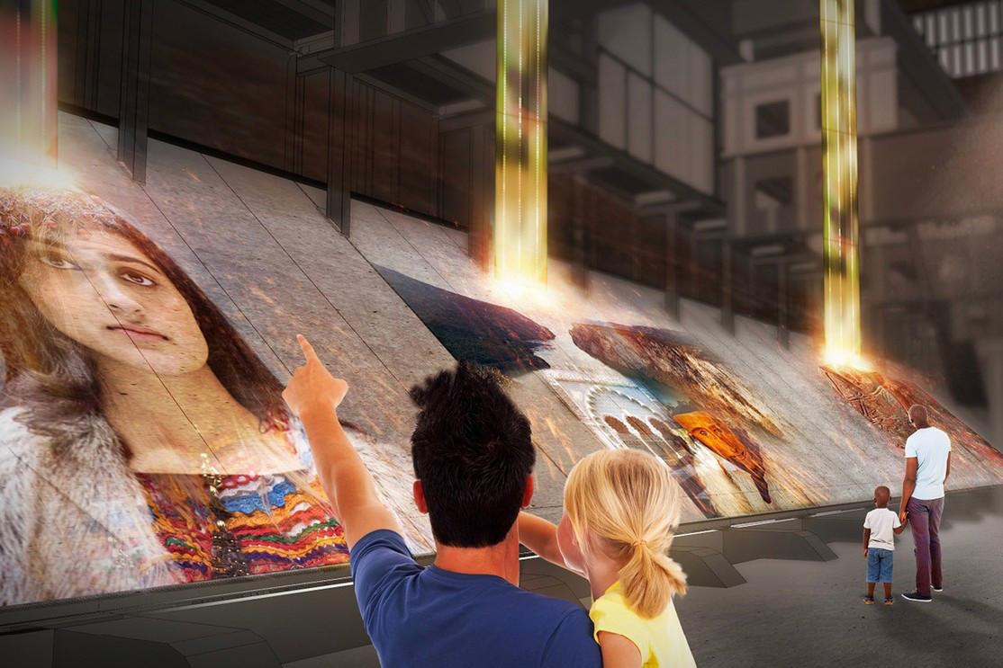 Une exposition sur l'Europe, conçue par Historical Consulting et Tinker Imagineers, sera organisée dans la Möllerei. (Illustration:Tinker imagineers)