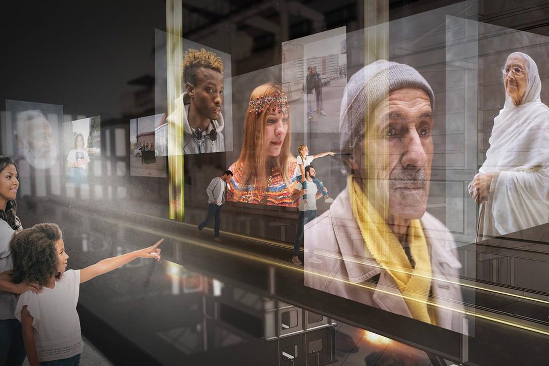 L'Europe sera abordée sous différents angles dans l'exposition«Perspectives of Europe» à la Möllerei. (Illustration:Tinker Imagineers)