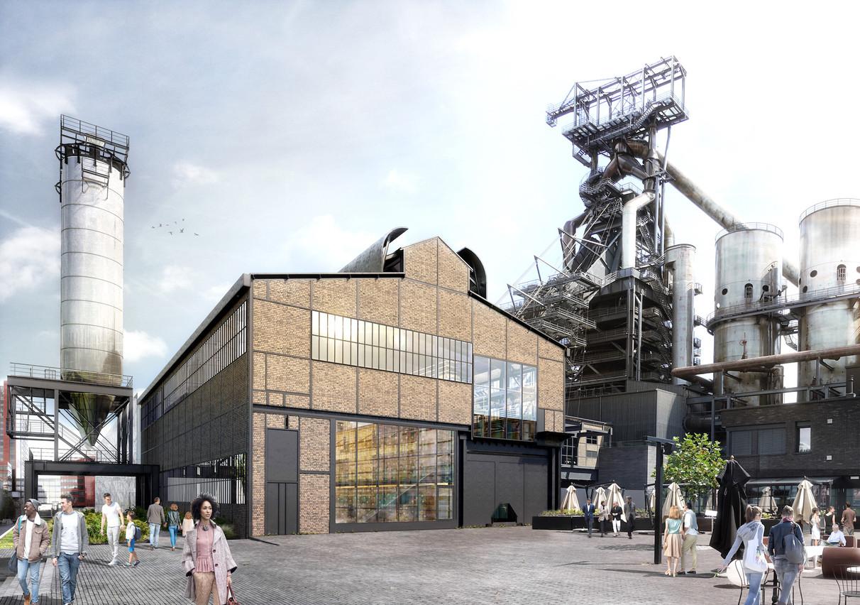 La Möllerei est actuellement en travaux afin d'accueillir, en 2022, le public en toute sécurité. (Illustration:Beiler François Fritsch-Fonds Belval)