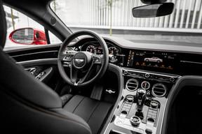 L'intérieur de cette Bentley concilie à merveille modernité et classicisme. ((Photo: Patricia Pitsch / Maison Moderne))