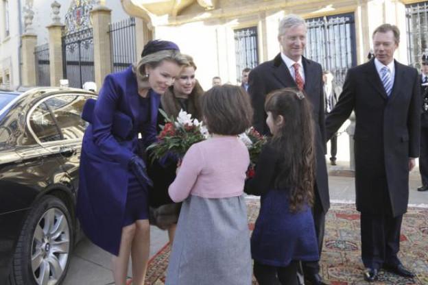 La dernière visite d'État du couple royal belge remonte au 2 décembre 2013. (Photo: SIP / Archives)