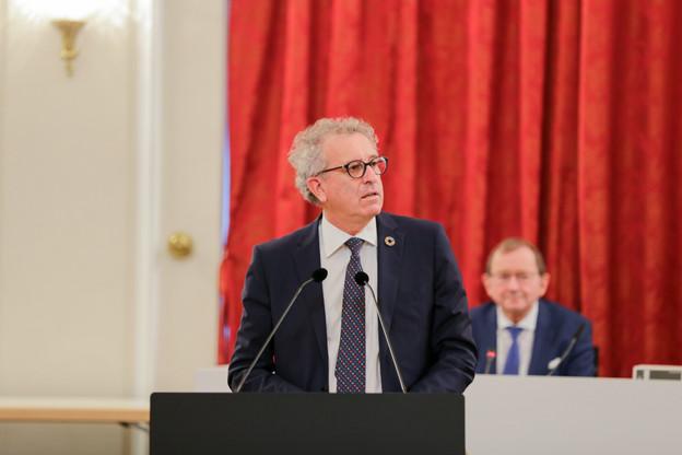 Le ministre des Finances PierreGramegna a déposé son projet de budget en octobre dernier. (Photo: Romain Gamba/Maison Moderne/Archives)