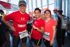L'équipe de Maison Moderne était présente sur la ligne de départ pour la 14e édition de l'ING Night Marathon Luxembourg. ((Photo: Nader Ghavami))