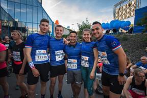 L'équipe du CGDIS était présente sur la ligne de départ pour la 14e édition de l'ING Night Marathon Luxembourg. ((Photo: Nader Ghavami))