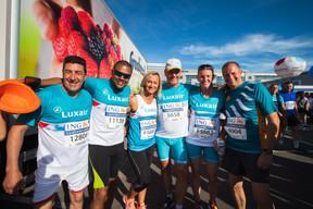 L'équipe de Luxair était présente sur la ligne de départ pour la 14e édition de l'ING Night Marathon Luxembourg. ((Photo: Nader Ghavami))