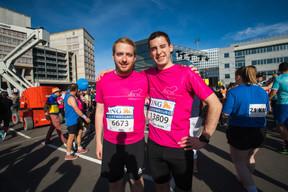 L'équipe de Linklaters était présente sur la ligne de départ pour la 14e édition de l'ING Night Marathon Luxembourg. ((Photo: Nader Ghavami))