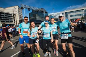 L'équipe d'Arendt était présente sur la ligne de départ pour la 14e édition de l'ING Night Marathon Luxembourg. ((Photo: Nader Ghavami))