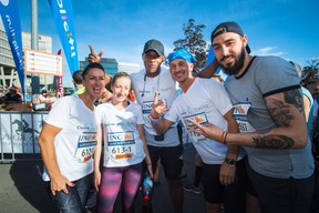 L'équipe de Tempo était présente sur la ligne de départ pour la 14e édition de l'ING Night Marathon Luxembourg. ((Photo: Nader Ghavami))
