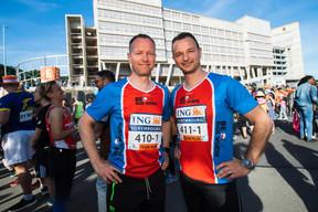 L'équipe de Paul Wurth était présente sur la ligne de départ pour la 14e édition de l'ING Night Marathon Luxembourg. ((Photo: Nader Ghavami))