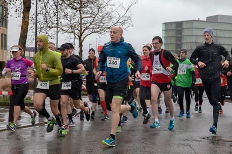 Le Postlaf rassemble traditionnellement plus de 2.000 coureurs à la Cloche d'Or. (Photo: Harry Daemen/Postlaf)