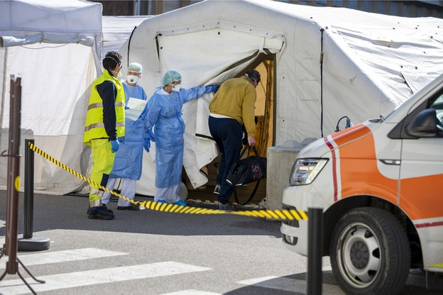 La barre des 30.000personnes testées positives depuis le début de l'épidémie a été franchie ce week-end, avec désormais 30.935cas enregistrées. (Photo: Shutterstock)