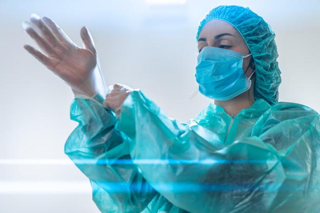 Vendredi, 86 personnes étaient hospitalisées, dont 10 en soins intensifs. (Photo: Shutterstock)