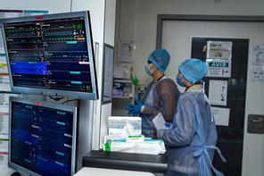 Mercredi, 14 personnes étaient toujours hospitalisées dans un service de réanimation. (Photo: Nader Ghavam /Maison Moderne)