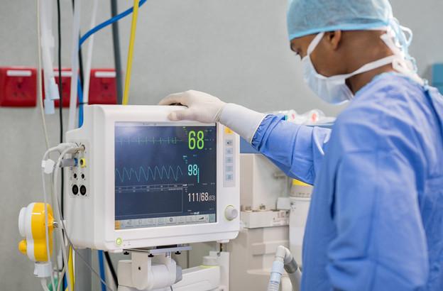 Le Luxembourg dispose d'un total de 105 lits en soins intensifs. 36 étaient occupés mercredi par des patients Covid. (Photo: Hôpitaux Robert Schuman)