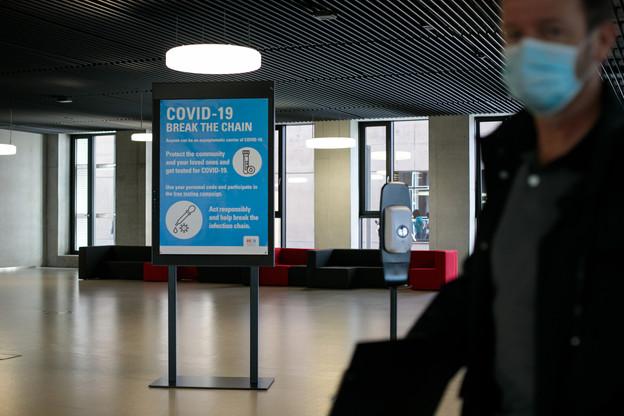 L'Université du Luxembourg compte pour l'heure 14infections actives sur une population de plus de 8.000étudiants et salariés. (Photo: Matic Zorman/Maison Moderne)