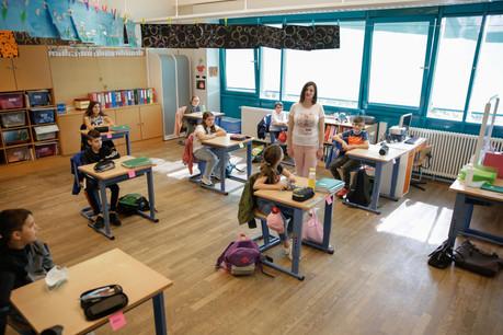 La situation sanitaire s'améliore nettement dans les écoles du pays. (Photo: Romain Gamba/Maison Moderne/archives)