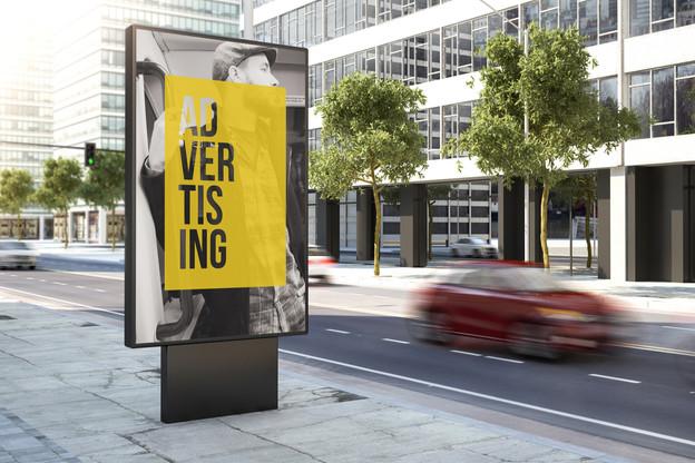124,3 millions d'euros ont été investis dans la publicité en 2020, selon l'étude de Nielsen et Espace Pub. (Photo: Shutterstock)