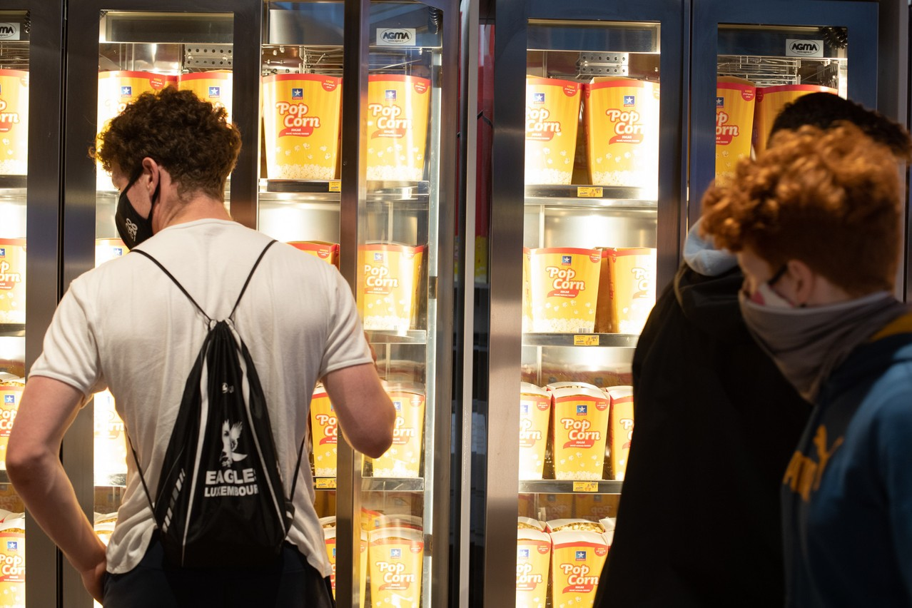 Introducing Covidcheck will allow the resumption of the sale of snacks and drinks, which represent the second largest source of income for the cinema operator Kinepolis. Photo: Matic Zorman / Maison Moderne