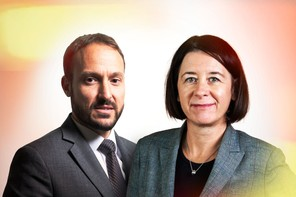 Nikola Krstic, Chief Investment Officer, & Frédérique Plas, Head of Portfolio Management. (Photo: Maison Moderne)