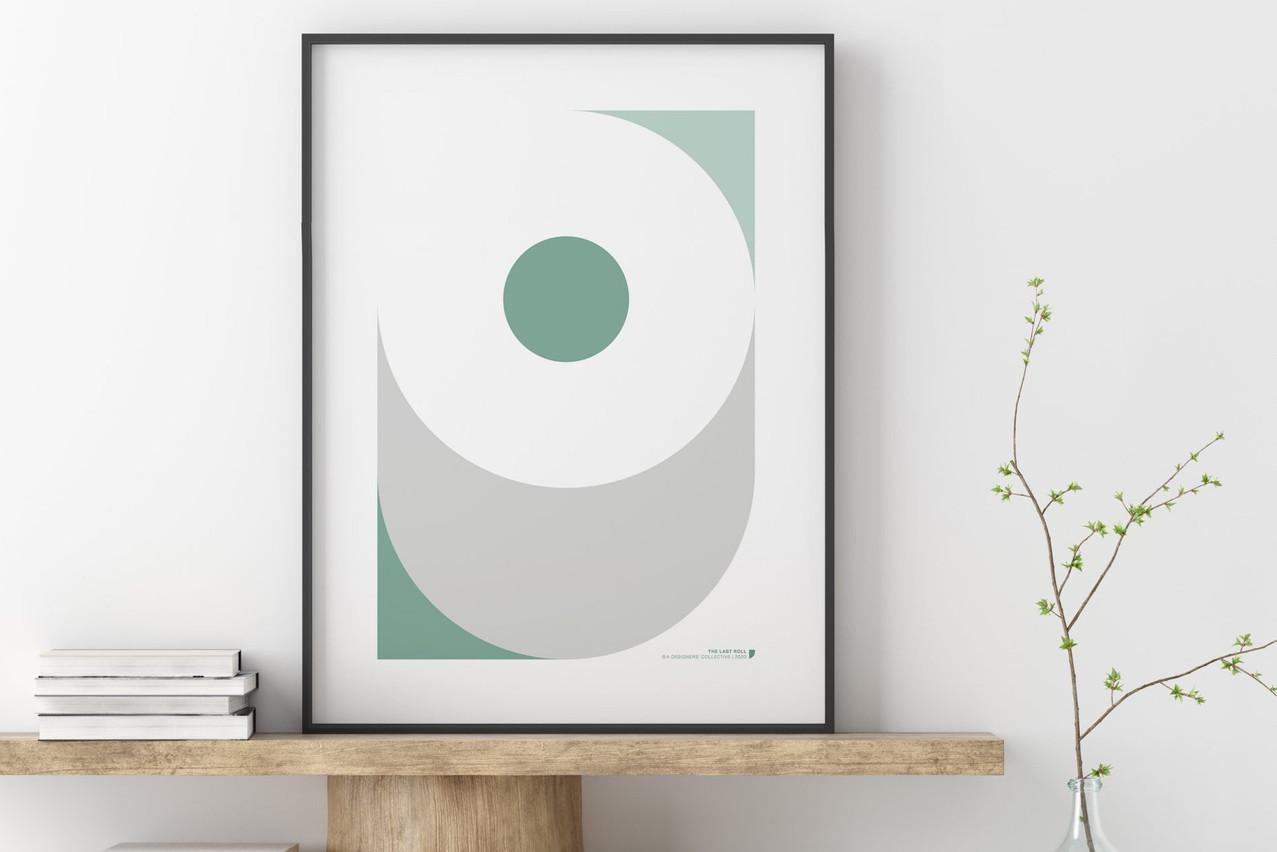A Designers' Collective décrit «Covid-19/The Last Roll» commeun hommage au sentiment étrange et légèrement sinistre d'être à court de papier toilette pendant une période de confinement… (Photo: A Designers' Collective)