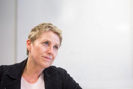 Sasha Baillie, CEO de Luxinnovation. (Photo: Anthony Dehez / Maison Moderne)
