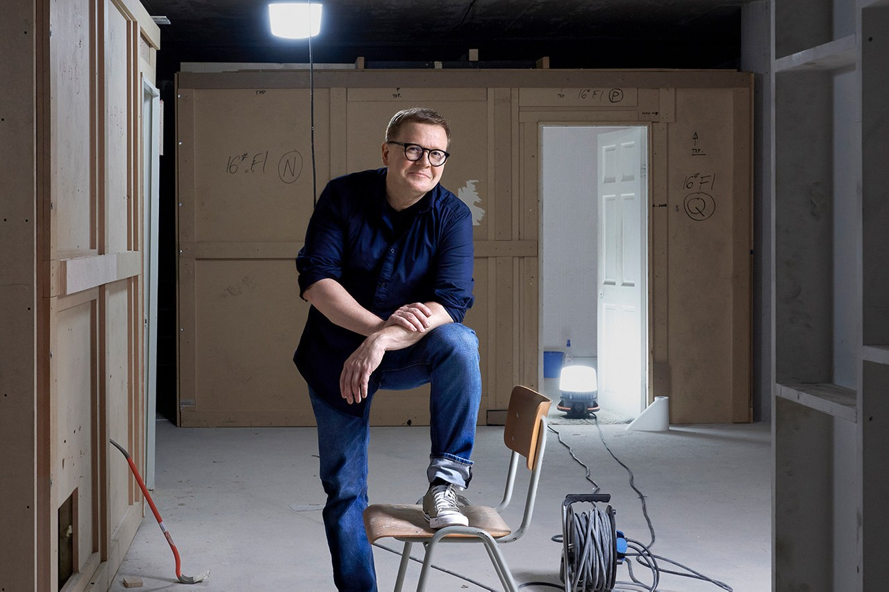 The Konschthal, with Christian Mosar at the helm, will give a new lease of life to culture in southern Luxembourg. (Photo: Andrés Lejona/Maison Moderne)