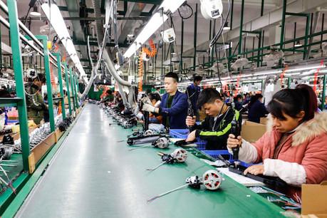 La guerre commerciale avec les États-Unis fait ralentir la croissance chinoise. (Photo: Shutterstock)