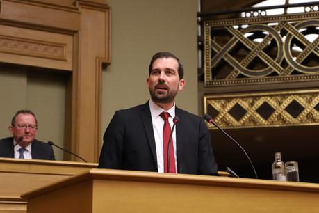 Le rapporteur du projet de budget2020, YvesCruchten, a axé son discours sur la nécessité de mieux traiter la question des inégalités et aussi de mieux gérer l'argent public. (Photo: Chambre des députés)