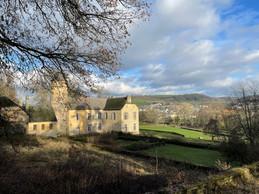 Le château de Birtrange profite d'un beau panorama ouvert sur les environs. ((Photo: Croix-Rouge luxembourgeoise))